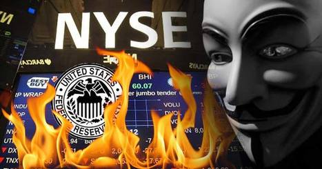 Anonymous Hackers Shut Down Federal Reserve Bank | anonymous activist | Scoop.it