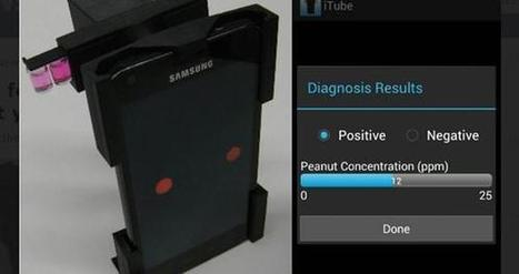 iTube passe par le smartphone pour repérer les allergies | 1- E-HEALTH by PHARMAGEEK - E SANTE par PHARMAGEEK | Scoop.it