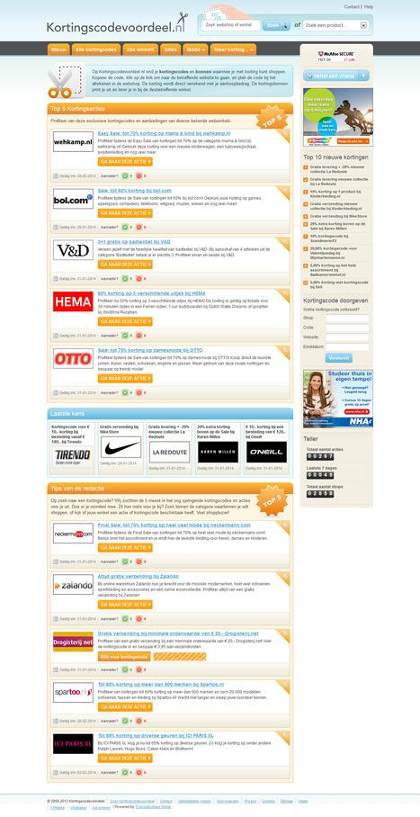 Kortings Code Voordeel, Discount Voucher CMS Design and Development | Magento eCommerce CMS Design and Development | Scoop.it