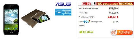 ASUS Padfone Smartphone + Tablette 445€ au lieu de 689€ | Les bons Plans de tablettes Android | Scoop.it