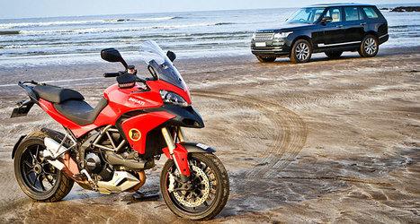 Range Rover v/s Ducati Multistrada | Desmopro News | Scoop.it