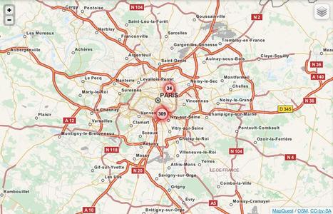 Paris sous-surveillance - Cartographie collaborative et ressources sur la vidéo-surveillance | Datavisualisation & géopolitique | Scoop.it