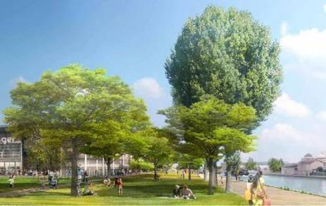 Aubervilliers : découvrez le futur visage des berges du canal (LeParisien, 25/04/16) | QUIGP | Scoop.it