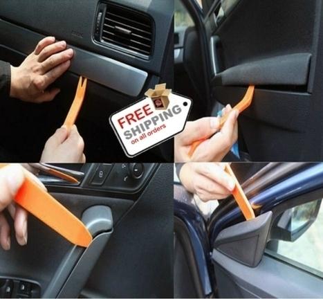 Car Radio Panel Door Clip Panel Trim Dash Audio Removal for sale   VERY INTERESTING Cool Stuff   Scoop.it