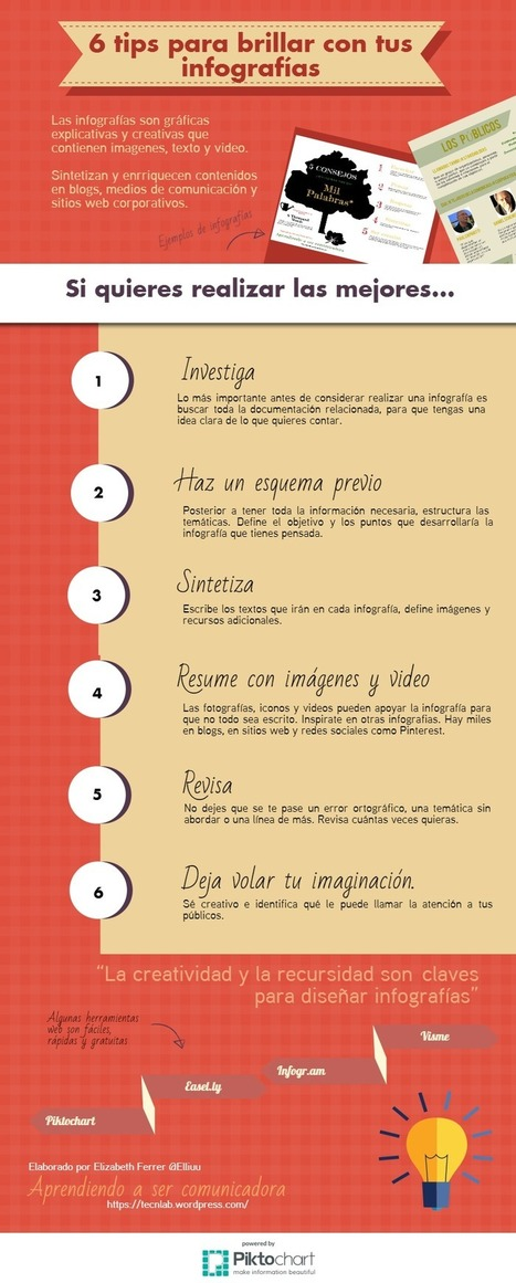 6 claves para brillar con tus infografías | Recull diari | Scoop.it