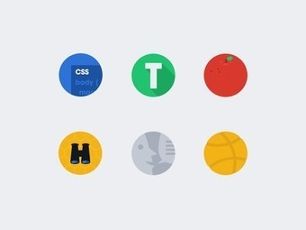 Dribbble - Designer News Badges by Allan Grinshtein | AAEEBL -- MOOCs, Badges & ePortfolios | Scoop.it