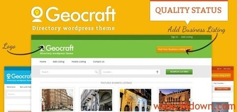 Inkthemes GeoCraft Nulled Download | testando | Scoop.it