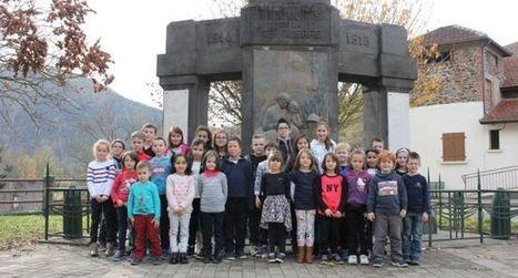 Les écoliers ont mis en ligne le monument aux morts - ladepeche.fr | monument aux morts 14-18 | Scoop.it