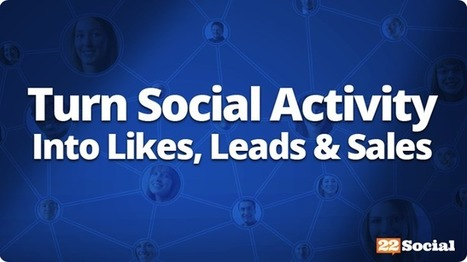 Turn Social Activity Into More Likes, More Leads, & More Sales on Facebook | Reflejos del Mundo Real | Scoop.it