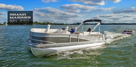 Grand Mariner SEL 23 Pontoon Boats for Sale   Party Boats From Harris FloteBote : 2014   Pontoon Boat   Scoop.it