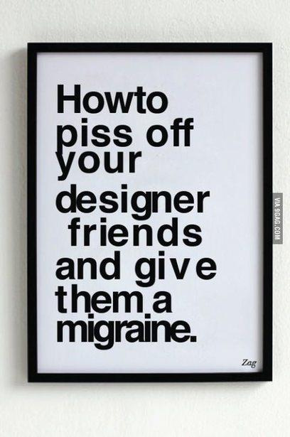 Graphic Design Sins - You The Designer   My English Website - Menno de Kort   Scoop.it