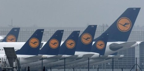 Lufthansa pilots strike for 4th day, 137 flights canceled | GGG (German, Germans & Germany) | Scoop.it