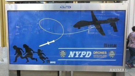L'artiste anti-drones recherché par la police | Libertés Numériques | Scoop.it