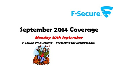 September 2014 Coverage (30th) | F-Secure Coverage (UK) | Scoop.it