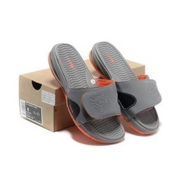 Cheap Nike Air Max Lebron Slippers Grey Orange | Jordan 28 for sale | Scoop.it