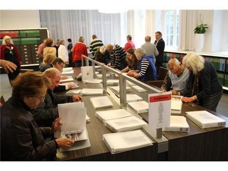 Regionaal Archief Alkmaar bijna overspoeld door record aantal bezoekers | Blik op het verleden: Alkmaar | Scoop.it