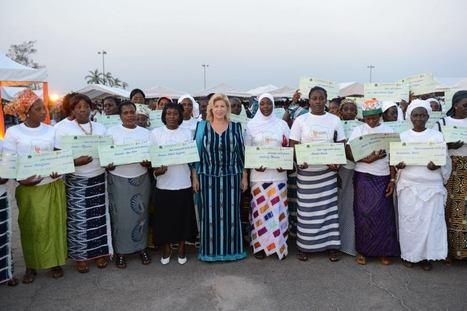 Côte d'Ivoire - Madame Ouattara offre 200 millions à 3.000 femmes du Bélier - Connectionivoirienne | Afrique | Scoop.it
