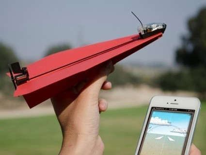 App-Controlled Paper Airplane | Amazing World | Scoop.it