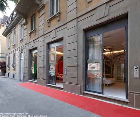 Les plus beaux HOTELS DESIGN du monde: Hôtel TownHouse ... | HOTEL LE SENAT PARIS | Scoop.it