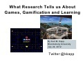 ASTD Gamification Webinar Slides | Personal Knowledge Management in Medical Education | Scoop.it