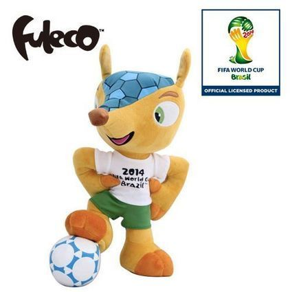 Fuleco Plush Toy 52cm standing on ball pose | Fuleco | Scoop.it
