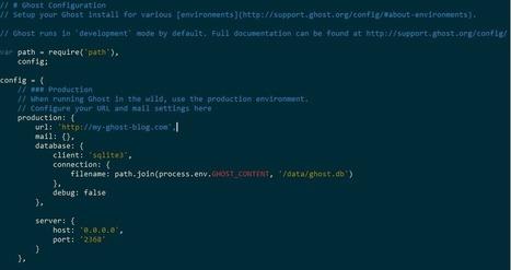 Comment j'ai créé ce blog grâce à Ghost, Docker et Azure | Docker (French) | Scoop.it