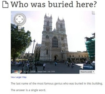 StreetView games and historical thinking | Edu-Recursos 2.0 | Scoop.it