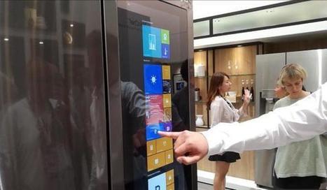 Ecco il frigo con sistema operativo, come il pc - Hi-tech | sistemi operativi | Scoop.it