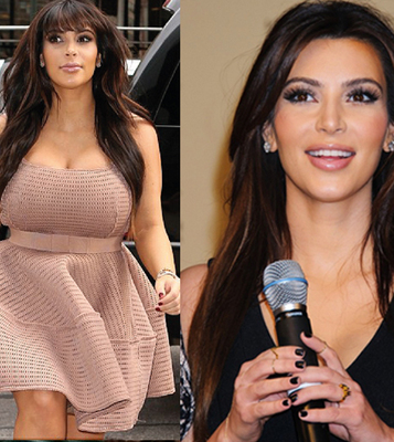 The Kim Kardashian Weight Loss Story | confessionsoftiredmoms | Scoop.it