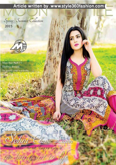 ONLINE DRESS SHOPPING SOHNI LAWN BY MOON TEXTILE  | Style360fashion | clothing and fashion new designs | Scoop.it