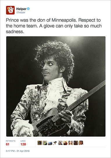Brands Post Tributes to Prince, but Struggle to Make Them Heartfelt and Not Promotional | Ethics in Marketing | Scoop.it