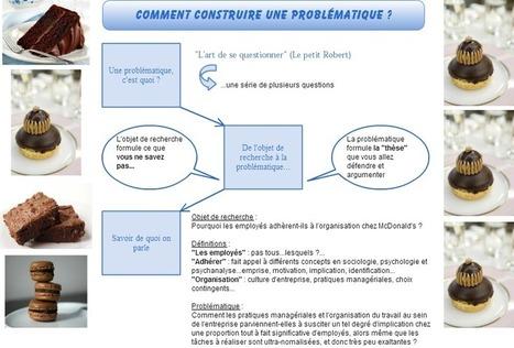Mémoire universitaire : comment construire une problématique ? | Elearning, pédagogie, technologie et numérique... | Scoop.it