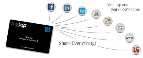 NFC Business Cards - OneTap Promotions | NFC & RFID News and Trends | Scoop.it