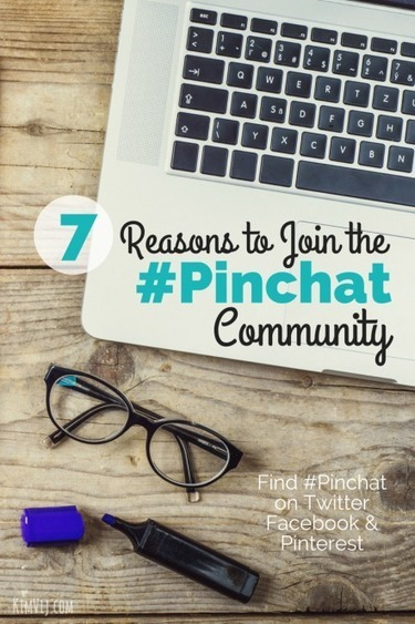 7 Reasons You Should Join #PinChat on Twitter and Facebook | Pinterest | Scoop.it
