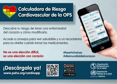 OPS lanza una aplicación que ayuda a medir el riesgo de desarrollar una enfermedad cardiovascular | Recursos Educativos Abiertos - REA | Scoop.it