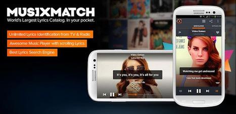 musiXmatch Lyrics Player v3.4.4 APK Free Download | Jose2395 | Scoop.it