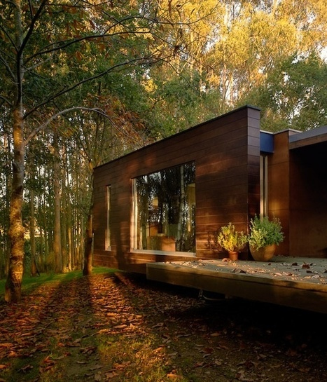 Wood House Concept Harmony With Nature | 建築 | Scoop.it