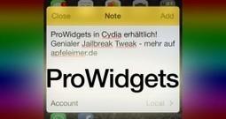 ProWidgets: Geniale Widgets für iPhone, iPad mit iOS 7 Jailbreak   iPhone News   Scoop.it