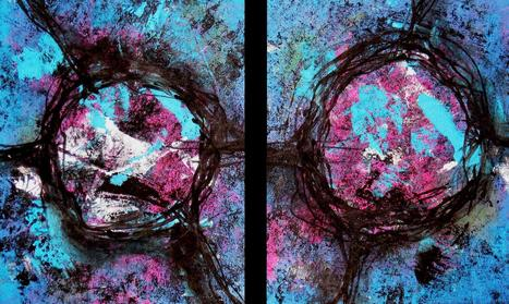 """"""" Black Circles """" by Patricia Quinche 