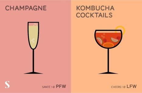 Paris VS London Fashion Weeks Creative Graphics | Créativité, Innovation et Prospective | Scoop.it