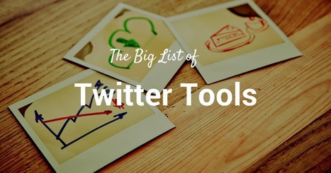 59 Free Twitter Tools and Apps That Do Pretty Much Everything | Online tips & social media nieuws | Scoop.it