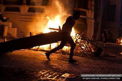 Clashes around downtown Cairo spill into early hours of Sunday | Égypt-actus | Scoop.it