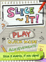 Slice It! Math App Review -Avatar Generation | ipad apps education | Scoop.it