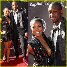 Gabrielle Union & Dwyane Wade – ESPYs 2013 Red Carpet | 2013 ... | From the red carpet! | Scoop.it