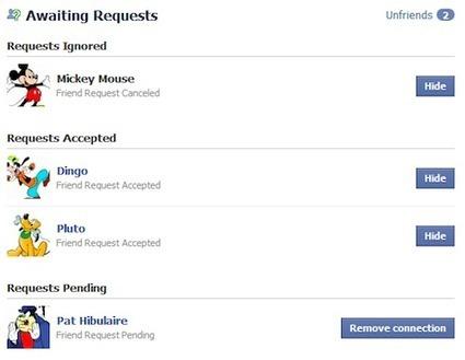 Comment savoir qui vous a supprimé de facebook | Korben | Actu Médias Sociaux | Scoop.it