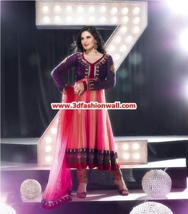 Zareen Khan Winter Collection 2013 For Women By Asianz Attire | Pakistani dresses | Scoop.it