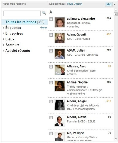 "Bien utiliser LinkedIn - n°2 : le carnet de contacts | Veille Techno et Informatique ""Autrement"" 