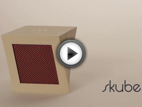 Skube, la radio sans fil connectée à votre compte Spotify et Last.fm   Veille Musique   Scoop.it