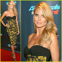 Heidi Klum: 'America's Got Talent' Red Carpet Event! - Just Jared | From the red carpet! | Scoop.it