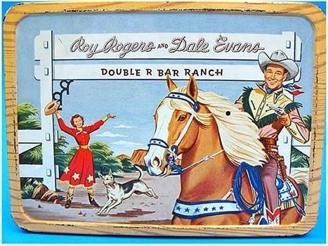 1950's Lunch Box Roy Rogers Dale Evans Double R Bar Ranch | Horse and Rider Awareness | Scoop.it